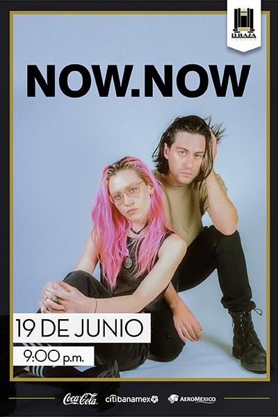 La agrupación de indie rock: Now, Now en El Plaza Condesa - now_now