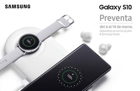Inicia la preventa de la serie Samsung Galaxy S10 en México
