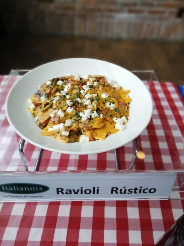 Raviolis y tortellinis, nuevas pastas rellenas se integran al menú de Italianni's - ravioli-rustico-600x800