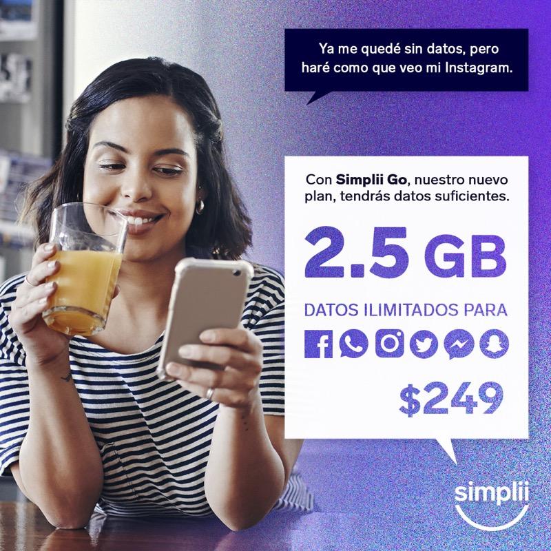 Simplii anuncia nuevos planes - simplii_go