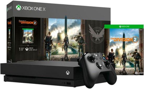 Ubisoft presentó los bundles de The Division 2 de Xbox One X y One S ¡Conoce los detalles para participar en el sorteo! - tom-clancys-the-division-2-xbox-one-x