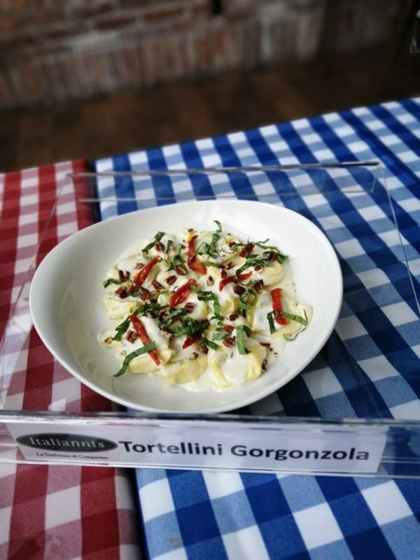 Raviolis y tortellinis, nuevas pastas rellenas se integran al menú de Italianni's - tortellini-gorgonzola-600x800