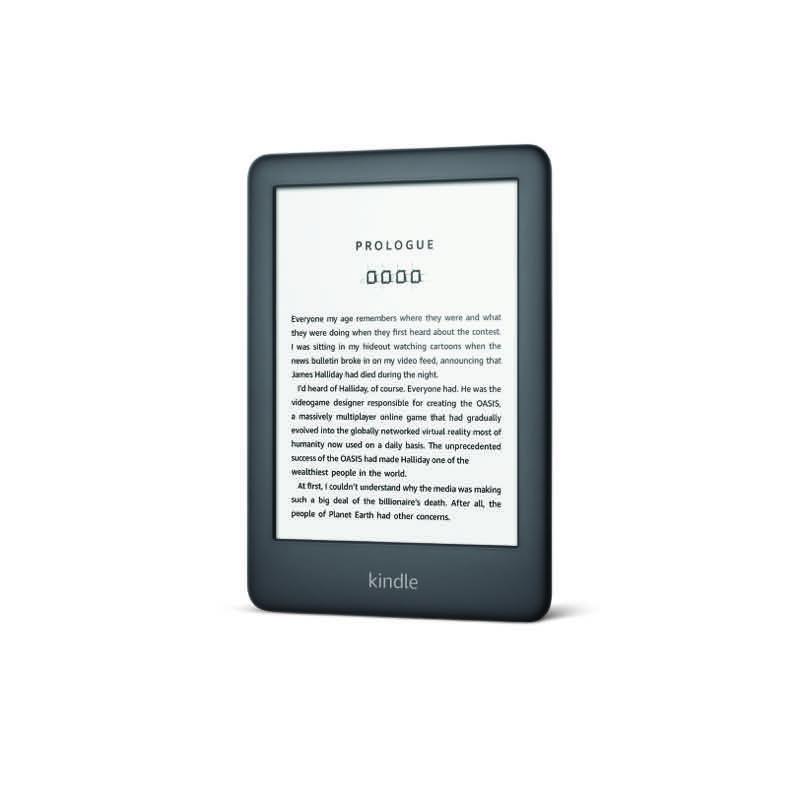 Nuevo Kindle ahora con una luz frontal por menos de $2,000 pesos - webadictos-gadget-kindle_black