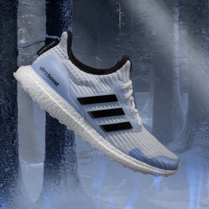 adidas Running presenta su colaboración con Game Of Thrones de edición limitada - white-walker_ultraboost-de-adidas-x-game-of-thrones