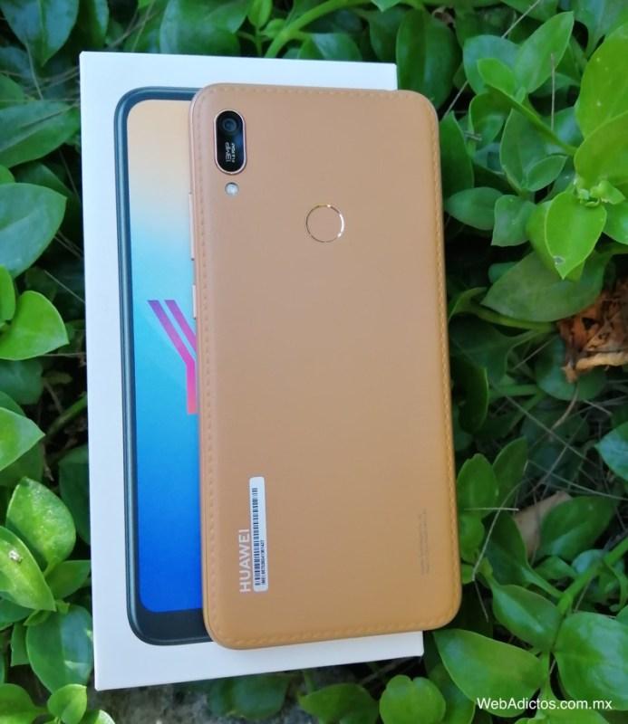 Nuevo Huawei Y6 2019 ¡conoce sus características y precio! - y6-2019-color-caramelo-webadictos-693x800