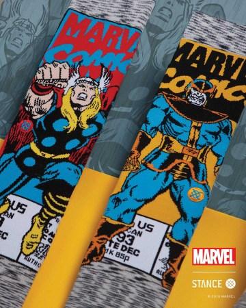 Colección Marvel por Stance