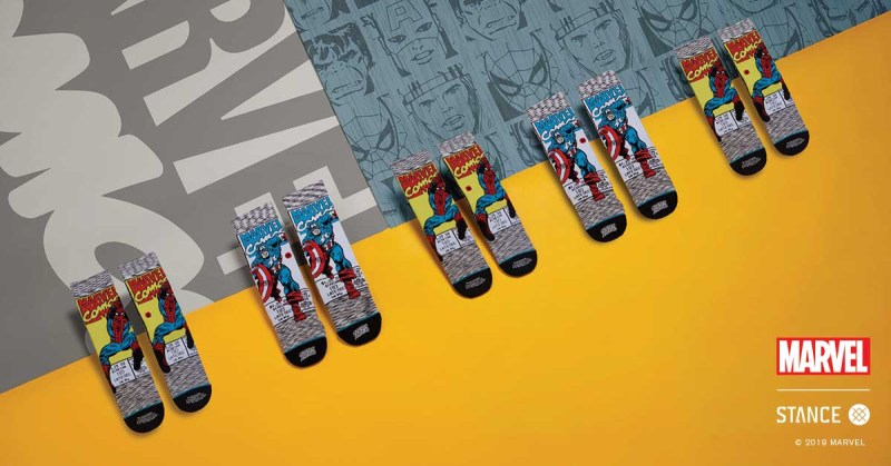 Colección Marvel por Stance - coleccion-marvel-stance