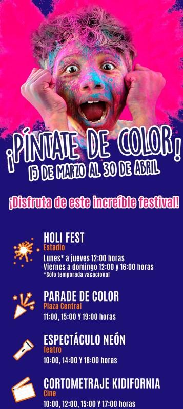 Color Fest KidZania 2019, fiesta llena de mucho color y diversión - color-fest-kidzania