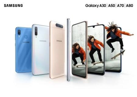 Nueva familia Galaxy A ¡características y precios!