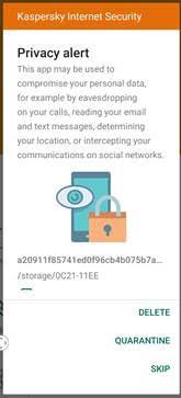 ¿Sabes qué es un stalkerware? - kaspersky-internet-security-android