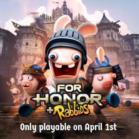 ¡Los Rabbids invaden el mundo de For Honor!