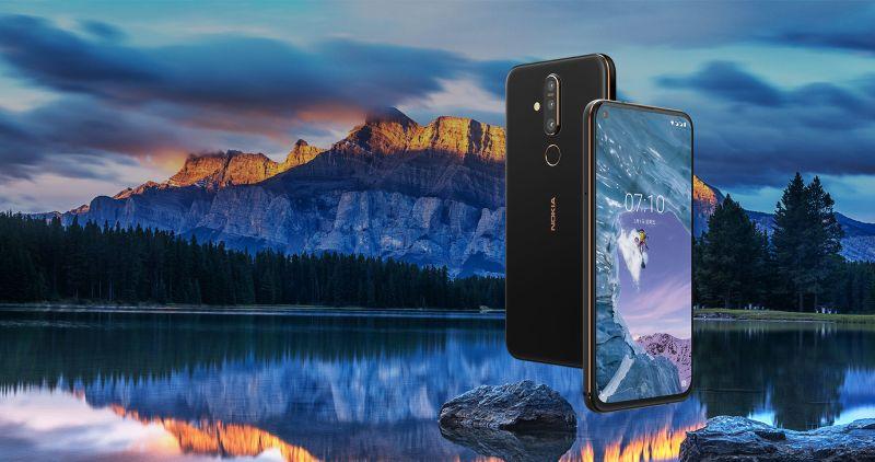 Con el Nokia X71, la firma finlandesa se une la tendencia de orificios en pantalla y cámara de 48 megapíxeles. - nokia_x71-hero