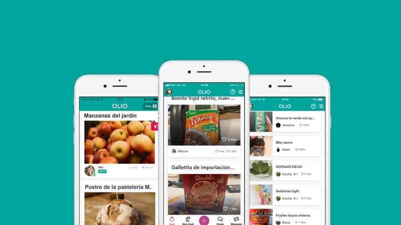 OLIO, app para ofrecer alimentos y artículos de manera gratuita ¡llega a México! - olio_app