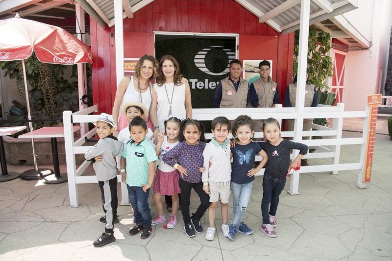"""""""Pequeños Gigantes"""" inauguran en Granja Las Américas la nueva dinámica del pabellón Televisa - pequencc83os-gigantes-pabellon-la-granja"""