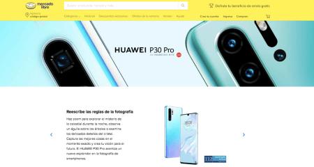 La serie P30 llega a la tienda oficial de Huawei dentro de Mercado Libre