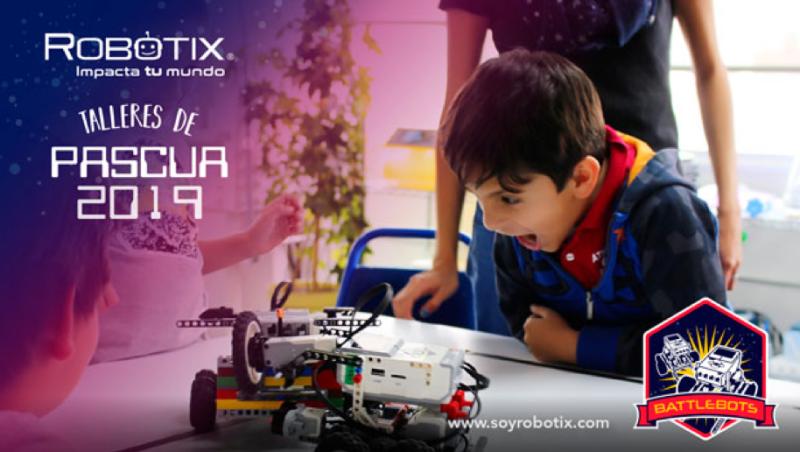 Talleres para niños RobotiX 2019 en Semana Santa - talleres-de-pascua3