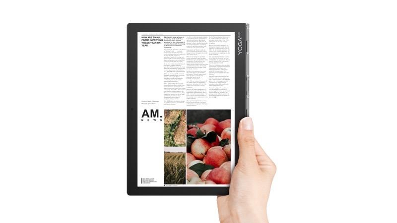 Lenovo presenta el Yoga Book C930 equipada con doble pantalla y Yoga S940 el primer portátil del mundo con vidrio 3D - 32_yb_c930_hero-1