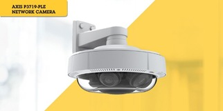 Soluciones de Axis más recientes en audio, video y control de acceso en Expo Seguridad 2019 - camara-de-red-axis-p3719-ple-2