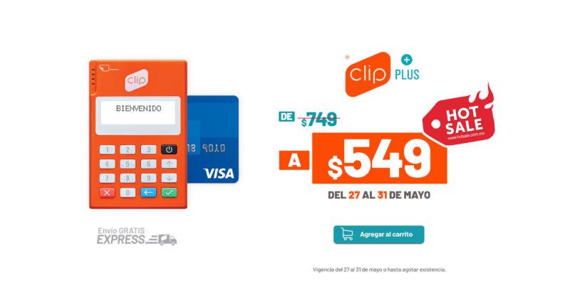 Hot Sale 2019: Clip se suma con descuentos del 25% para que más negocios puedan aceptar pagos con tarjeta - clip-e1558978130633-800x419