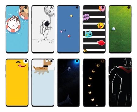 Samsung lanza wallpapers de Disney y Pixar para la serie del Galaxy S10