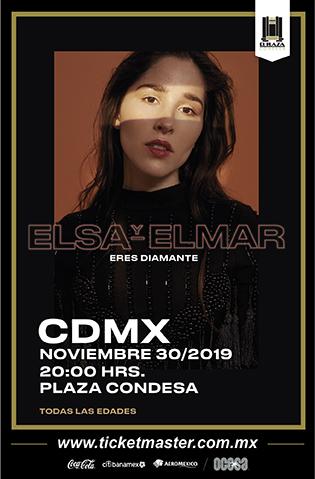 Elsa y Elmar se presentará con nuevo disco en El Plaza Condesa - elsayelmar