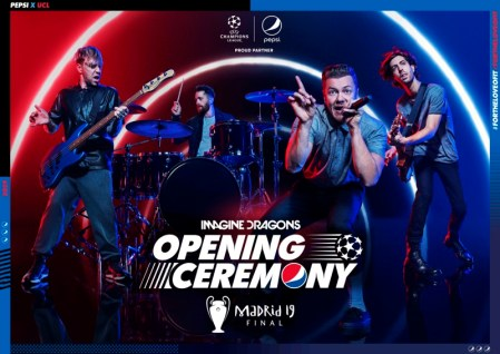 Imagine Dragons en la apertura de la Final de la Liga de Campeones de la UEFA 2019