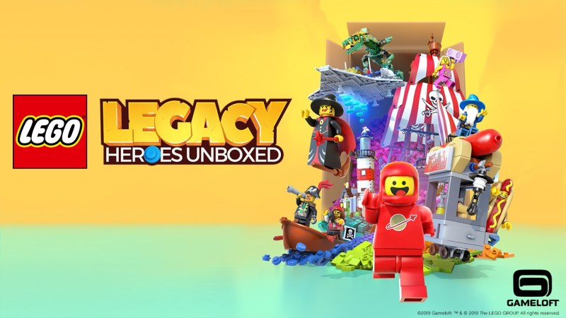 "Gameloft y el Grupo LEGO presentan ""LEGO Legacy: Heroes Unboxed"" - lego-legacy-heroes-unboxed"