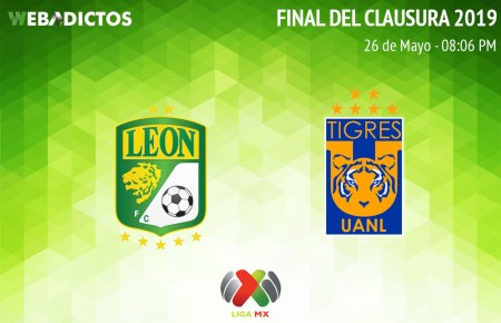 León vs Tigres, Final del Clausura 2019 ¡En vivo por internet!