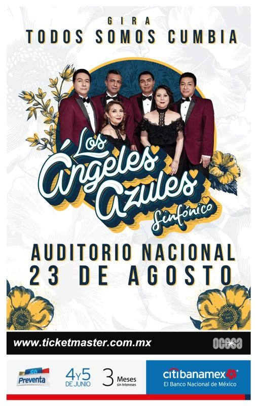 Los Ángeles Azules Sinfónico regresan al Auditorio Nacional - los-angeles-azules-507x800