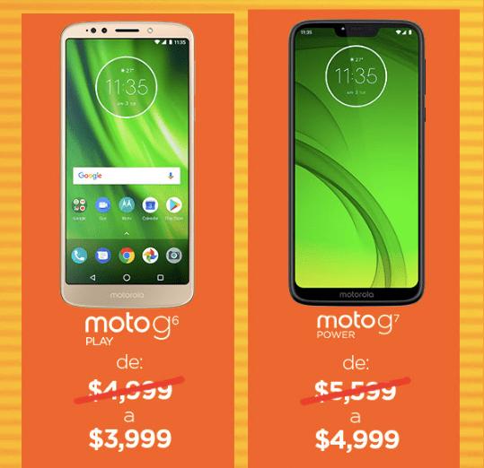 Los descuentos de Motorola durante el Hot Sale que no podrás creer - moto-g6-moto-g7-motorola