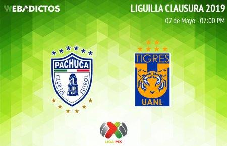 Pachuca vs Tigres, ida de la Liguilla del Clausura 2019 ¡En vivo por internet!
