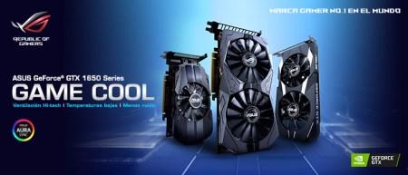 ASUS anuncia sus Tarjetas Gráficas ROG Strix, Dual y Phoenix GeForce GTX 1650