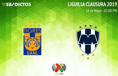 Tigres vs Monterrey, vuelta de Liguilla C2019 ¡En vivo por internet!