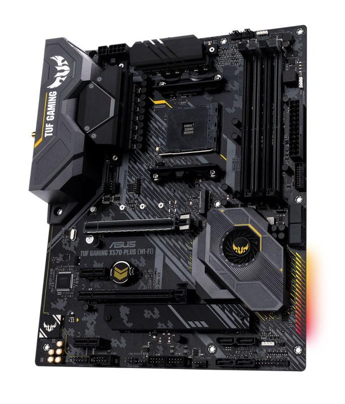 ASUS lanza sus Tarjetas Madre Serie X570 para AMD - tuf-gaming