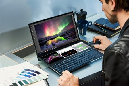 ASUS lanza Zenbook Pro Duo que incorpora ScreenPad Plus,una pantalla táctil secundaria