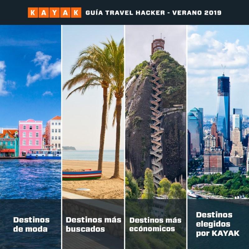 Conoce cuáles son los mejores destinos para visitar este verano 2019 ✈️ - guia-travel-hacker-2019