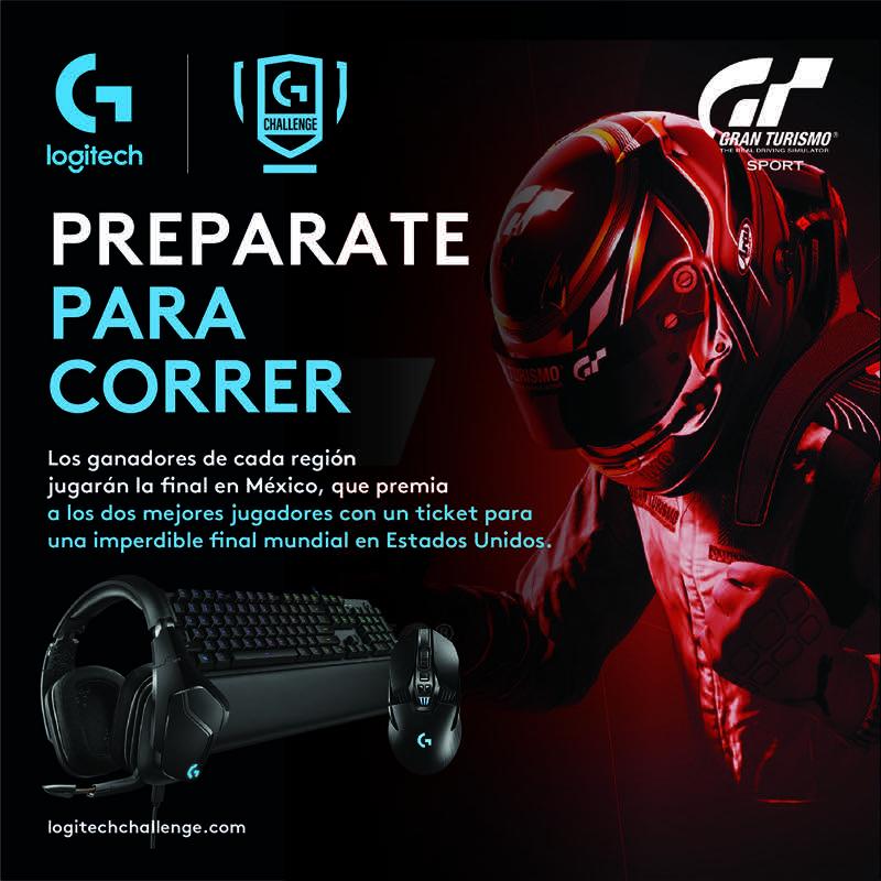 Logitech G Challenge busca al mejor piloto mexicano de Gran Turismo Sport - logitech-g-challenge