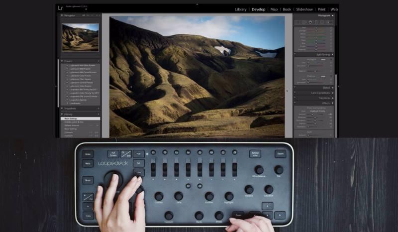 Loupedeck+ en México: Edición de video e imagen sin ratón y teclado - loupedeck_teclado