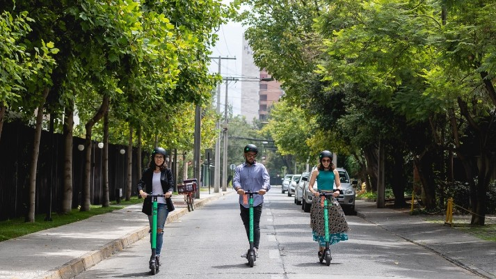 Usuarios de scooters en México gastan 70 pesos en cada uso - scooters-usuarios
