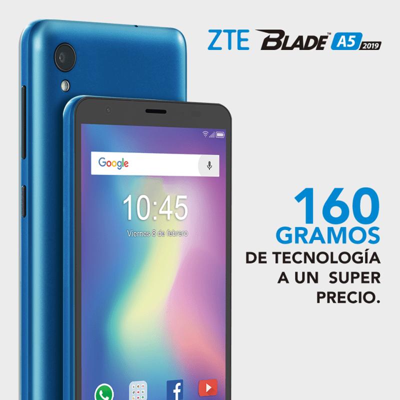 Llega a México la nueva familia ZTE BLADE A5, L8 y L130 - zte-blade-a5