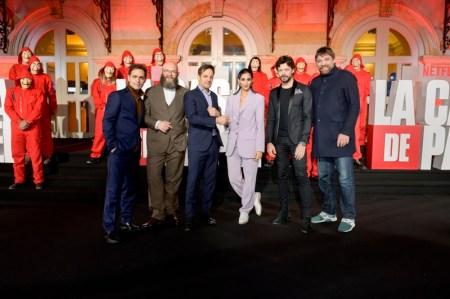 Netflix celebró la Premiere de la serie La casa de papel parte 3 en Colombia