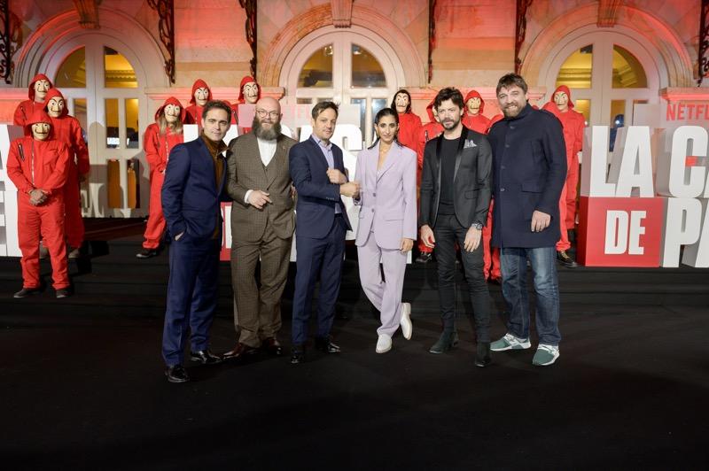 Netflix celebró la Premiere de la serie La casa de papel parte 3 en Colombia - la-casa-de-papel-parte-3-pedro-alonso