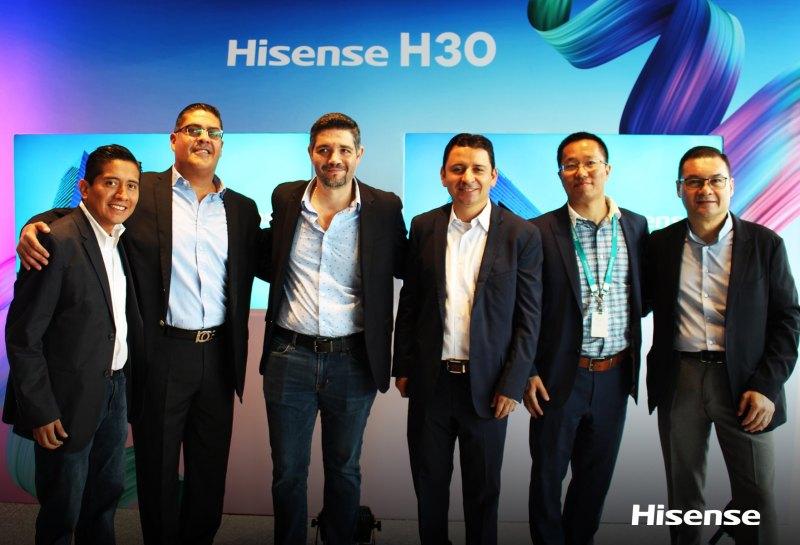 Hisense H30 llega a México ¡Conoce sus características y precio! - lanzamiento-hisense-30