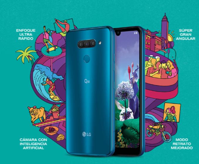 LG Q60 con triple cámara con Inteligencia Artificial ¡conoce sus características y precio! - lg-q60