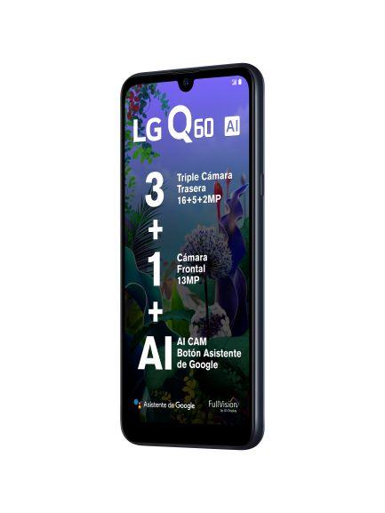 LG Q60 con triple cámara  con Inteligencia Artificial ¡conoce sus características y precio! - lg-q60_smartphone