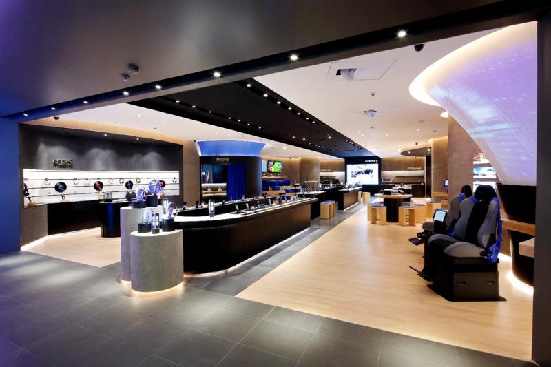 Samsung Store Perisur premiada por la revista a! Diseño - samsung-store-perisur-evista-a-disencc83o_3-800x533