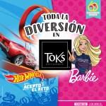 Nuevo menú infantil en Toks dedicado a Barbie y Hot Wheels