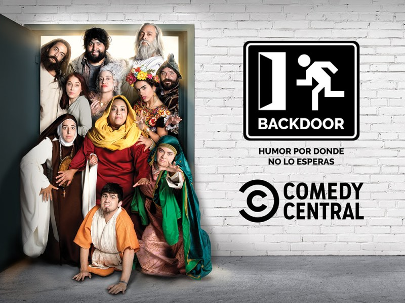 Backdoor llega a Comedy Central con un especial de televisión de una hora - backdoor-llega-a-comedy-central