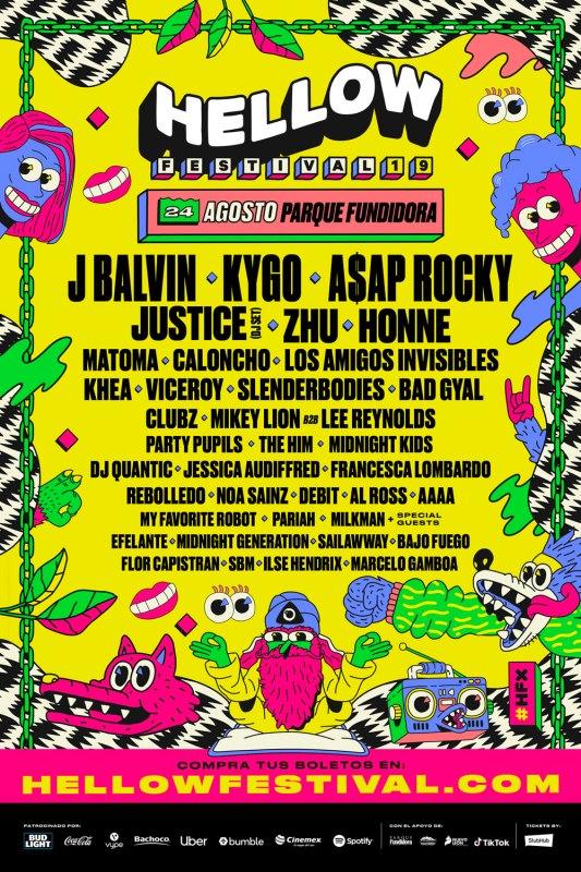 Hellow Festival: lo imperdible de esta edición - cartel-hellow-festival