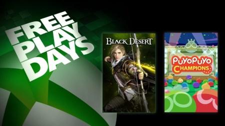 Días de juego gratis: Black Desert y Puyo Puyo Champions